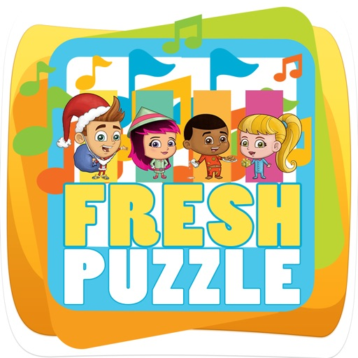 kids puzzle for fresh beat band of spies by rewadee latkaew