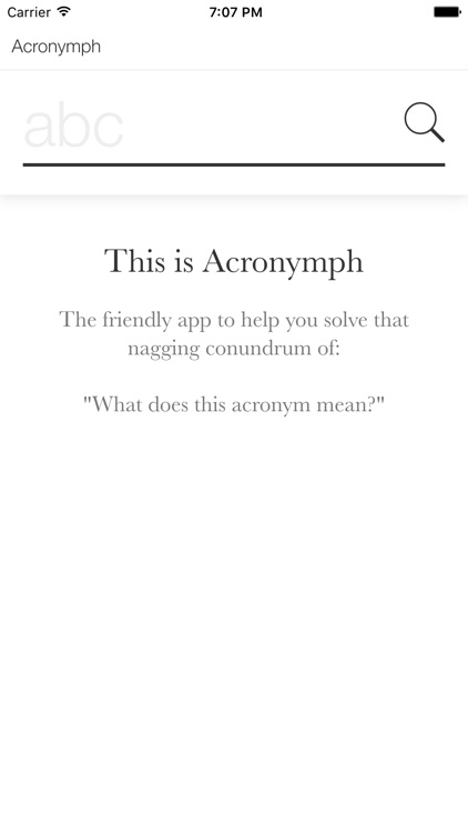 Acronymph screenshot-0