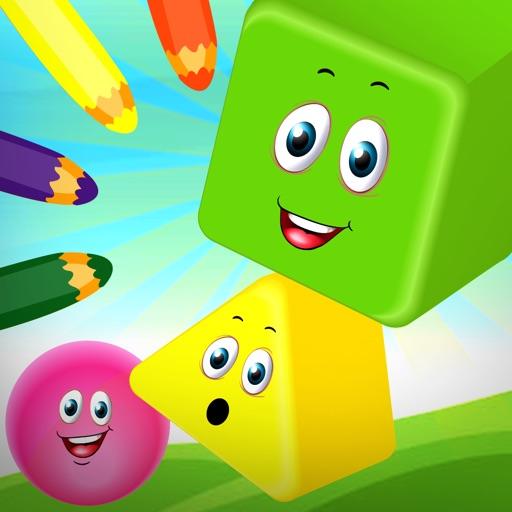 Preschool Nanny - Learning Shapes, Colors, Matching, Music