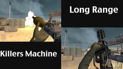 Real Trigger FPS Weapons Shooting Test : Desert Range Mission Game screenshot one