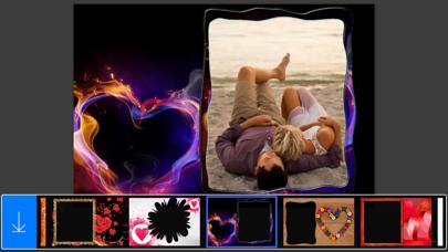 Love Photo Frames - Make awesome photo using beautiful photo frames screenshot two
