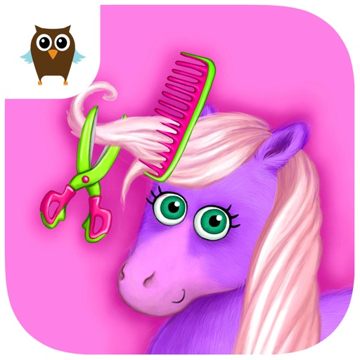 Pony Sisters in Hair Salon - Horse Hairstyle Makeover Magic