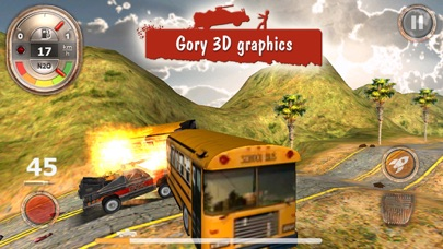 Screenshot from Zombie Derby: Race and Kill