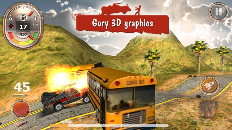 Zombie Derby: Race and Kill screenshot-3