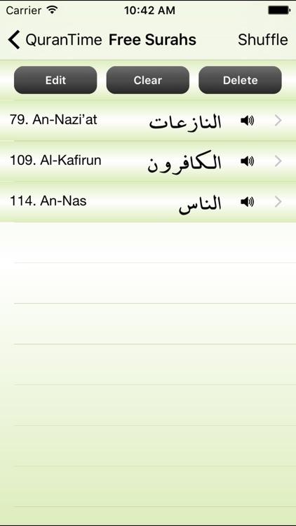 QuranTime by qari Sheikh Abdelkarim Edghouch ( Quran ) screenshot-4