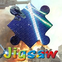 Cartoon Puzzle - Galaxy Wars Jigsaw Puzzles Free For Kids Learning Education Games