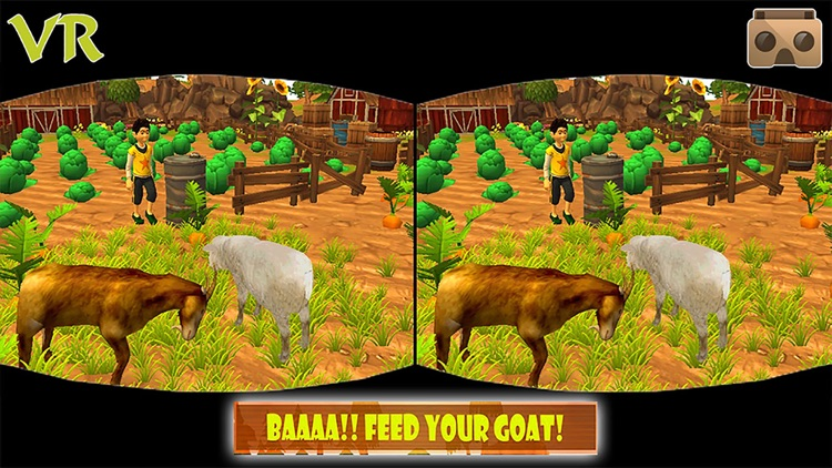 VR Angry Goat Simulator 3D