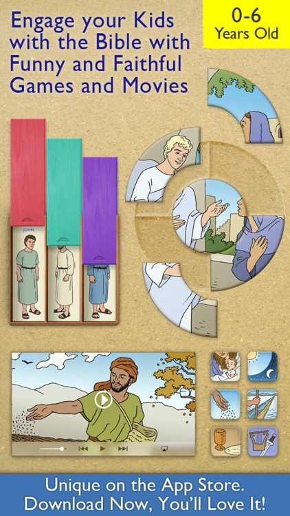 My First Bible Games for Kids, Family and School screenshot-0