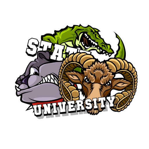 University Stickers