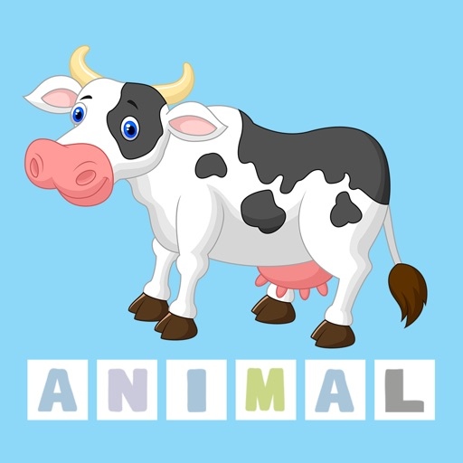 First Words Animal - Easy English Spelling App for Kids
