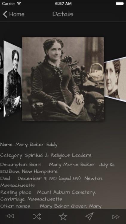 Spiritual & Religious Leaders Details screenshot-3