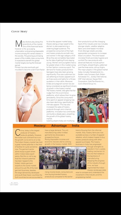 Lace n Lingerie Magazine screenshot-3