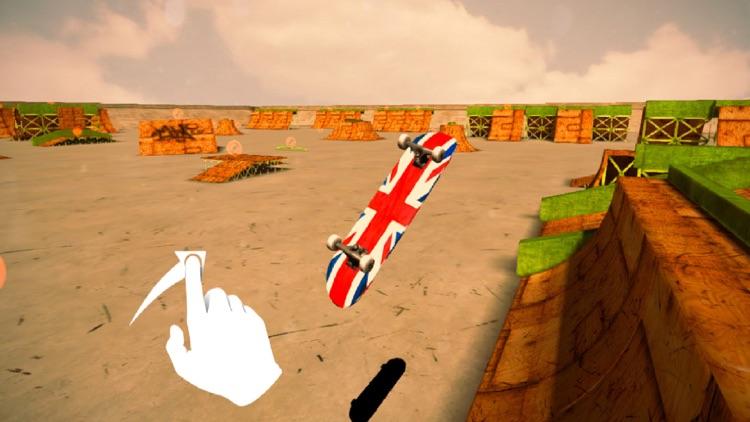 True Skater 3D - HD Free Skateboard Park Skate Game screenshot-3