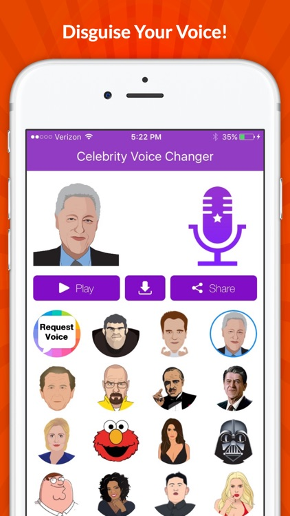 Celebrity Voice Changer - Funny Voice FX Cartoon Soundboard screenshot-3