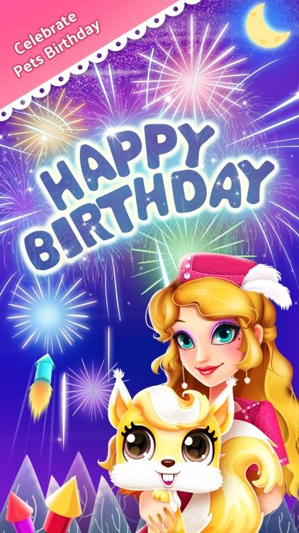 Princess Pet Hair Salon - Royal Birthday Party Makeover screenshot-3