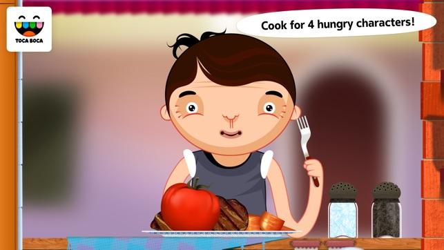 Toca Kitchen Screenshot