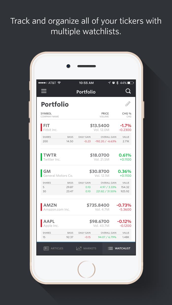 MarketWatch - News & Data Screenshot