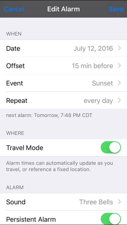 Sol: Sun Clock – Daylight Forecaster & Solar Alarm screenshot-4