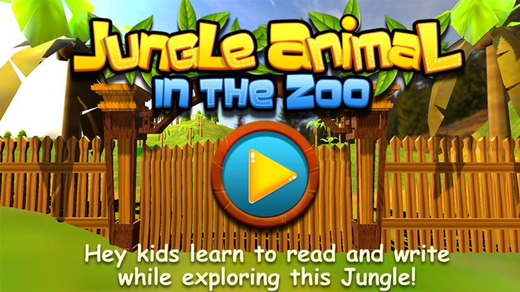 Jungle Animals in the Zoo : Let Your kid learn about Zebra, Lion, Dog, Cats & other Wild Animals