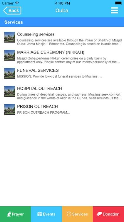Masjid Quba - Edmonton screenshot-3