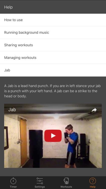 Kickboxing Workout Trainer - Ruckus Pro screenshot-3