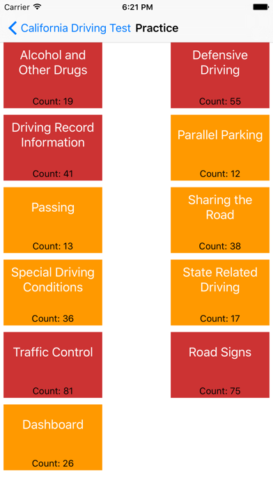 California Driving Test Preparation App DMV Driver's