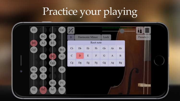 FingerFiddle - Play music like on a real violin screenshot-3