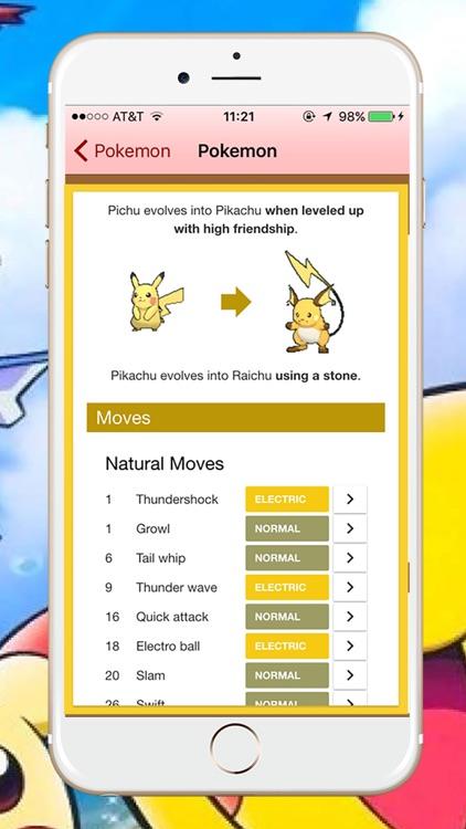 Help & Guide & PokeDex for Pokemon Go