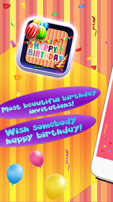 Happy birthday card creator best greeting erds and invitations cards and invitation screenshot 6 for happy birthday card creator best greeting e m4hsunfo