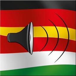 German / Hungarian Talking Phrasebook Translator Dictionary - Multiphrasebook
