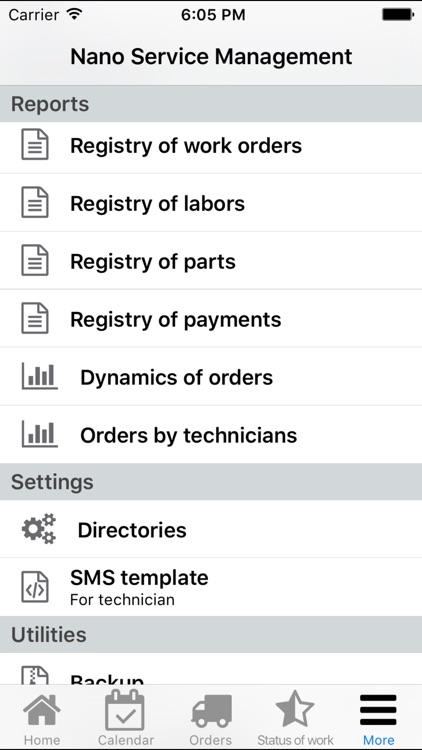 Nano Service Management screenshot-4