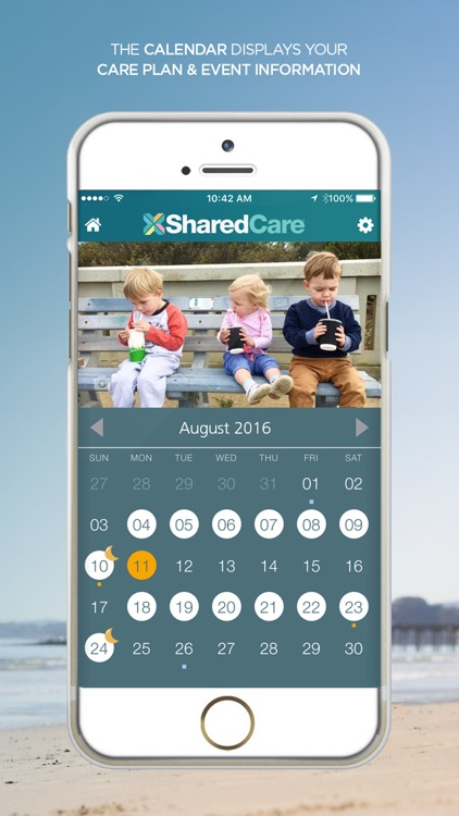 SharedCare - Joint Custody Organizer & Co-Parenting App screenshot-3