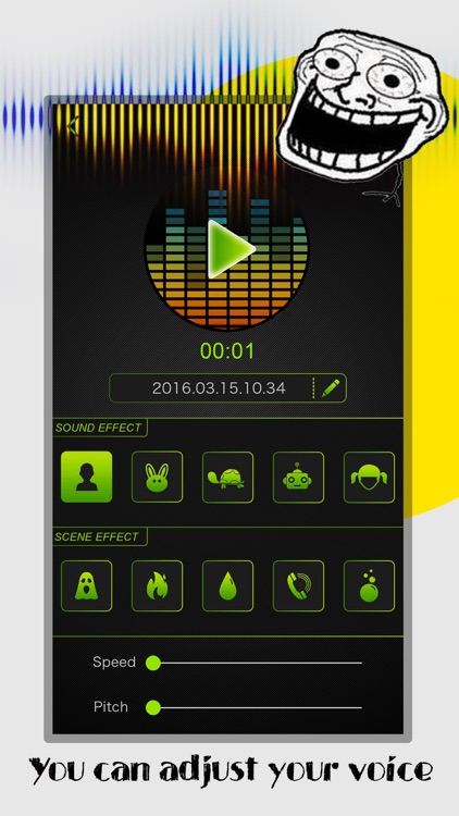 Voice Changer Pro - Prank Sound Effect.s Modifier, Audio Record.er & Play.er for Phone Call screenshot-3