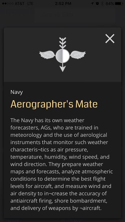 US Navy Ratings & Reference screenshot-4