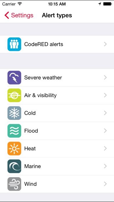 CodeRED Mobile Alert app image