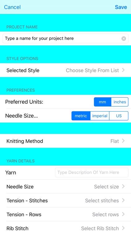KnitsThatFit Hat Knitting Patterns Customisable! screenshot-3