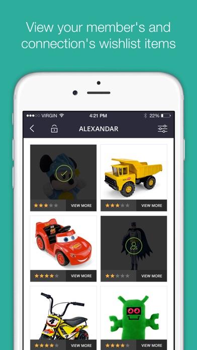 wishpix social registry gift list app app data review social