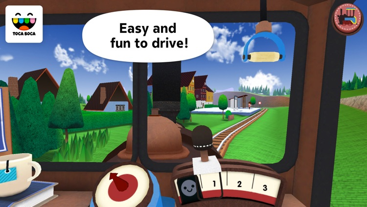 Toca Train screenshot-1