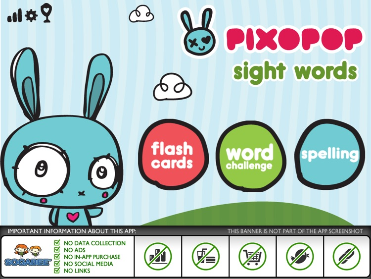 Sight Words & Spelling with Pixopop HD