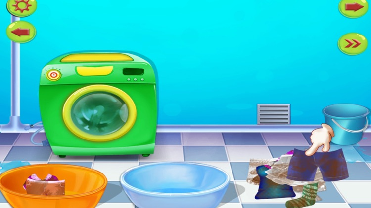 Clean Up - House Cleaning : cleaning games & activities in this game for kids and girls - FREE screenshot-4