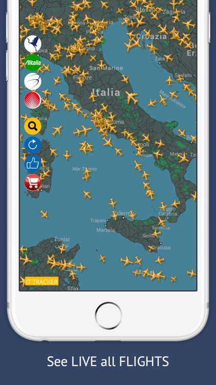 IT Tracker Free : Live Flight Tracking & Status