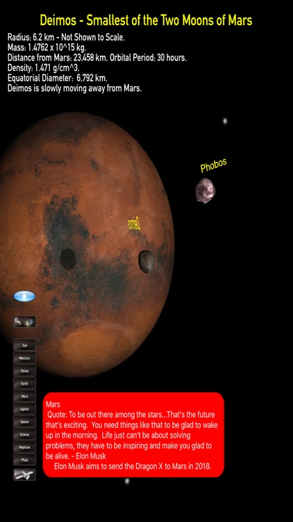 solarSysModel - 3D Solar System Model - Educational Representation of Moons, Planets, Spacecraft, and Asteroids screenshot-3