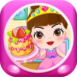公主做蛋糕 早教 儿童游戏