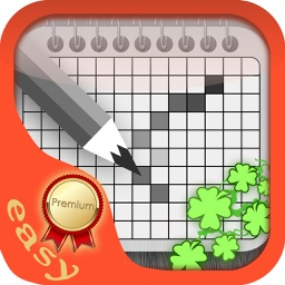 Easy Patrick Crossword Premium - Best Green Nonogram