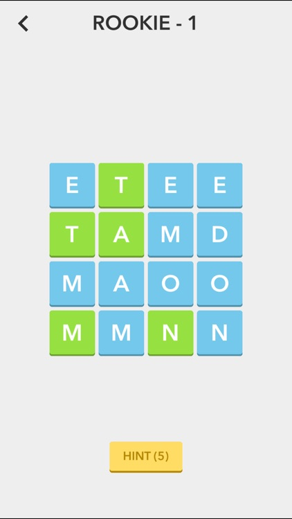 Scramble Squares - Magic Word Square Puzzle Game by