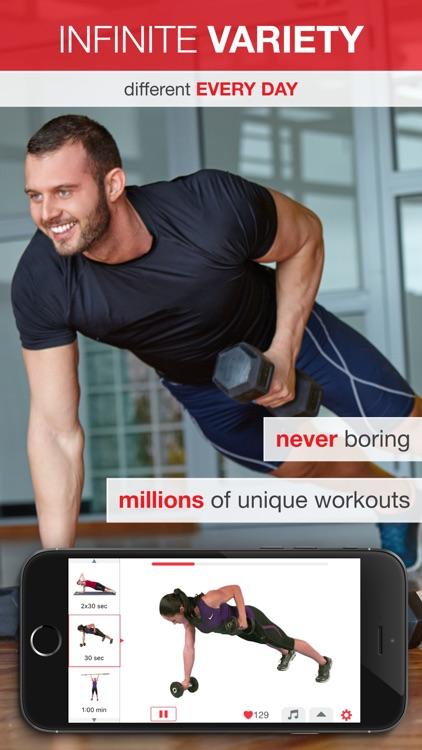 7 Minute Workout - Beginner to Advanced High Intensity Interval Training (HIIT) screenshot-3
