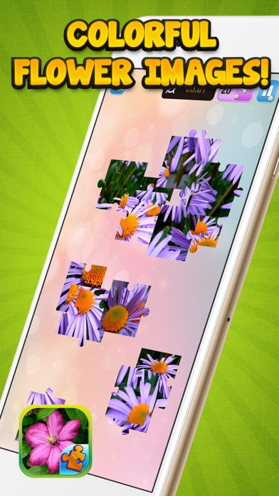 Jigsaw Flower Puzzle – Play Spring Blossom Puzzling Game and Unscramble Floral Pic.s screenshot three