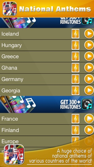 National Anthem s – Best Ringtone s and Sound s on the App Store