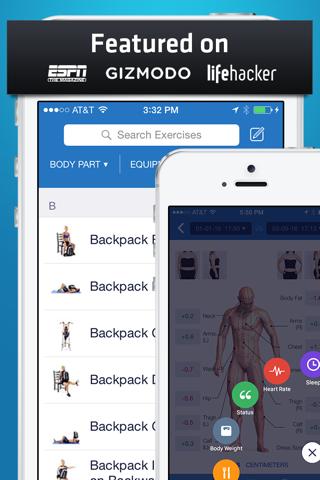 Fitness Buddy+: Gym Workouts screenshot 1