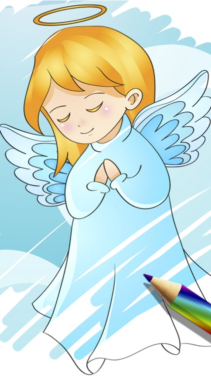Children's Bible coloring book - Paint drawings